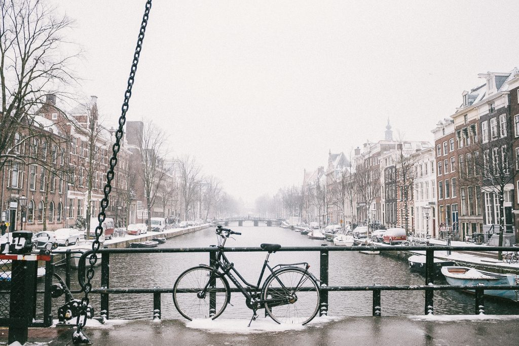 Amsterdam in de winter