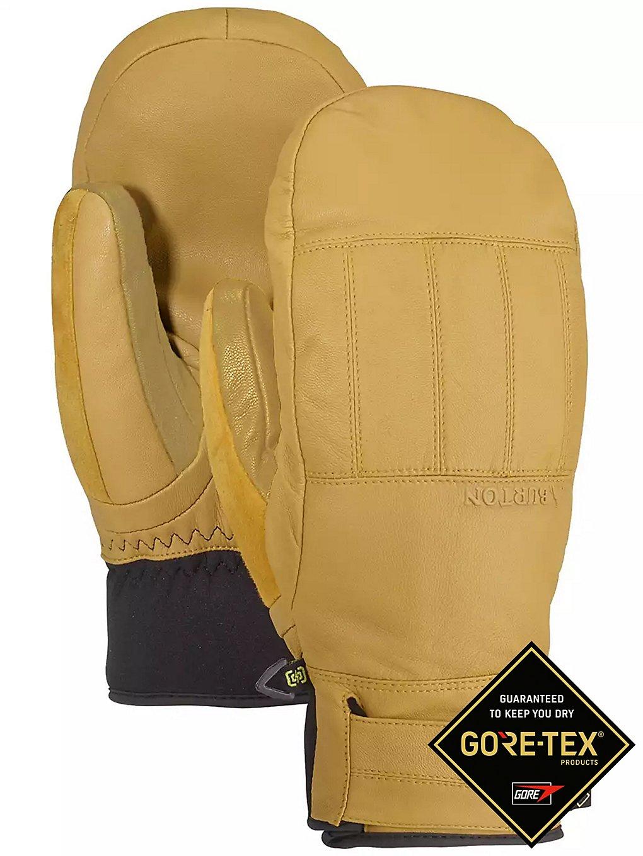 Burton Gore-Tex Gondy Leather Mittens bruin