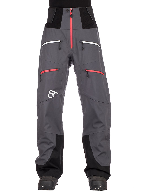 Ortovox 3L Guardian Shell Pants zwart