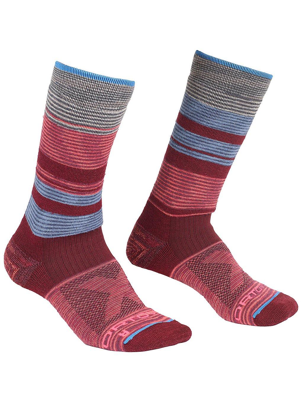 Ortovox All Mountain Mid Warm Tech Socks patroon