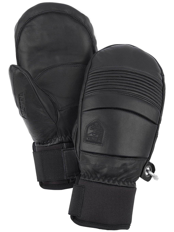 Hestra Leather Fall Line Mittens zwart