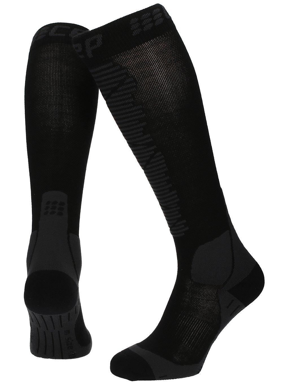 Cep Ski Merino Tech Socks zwart