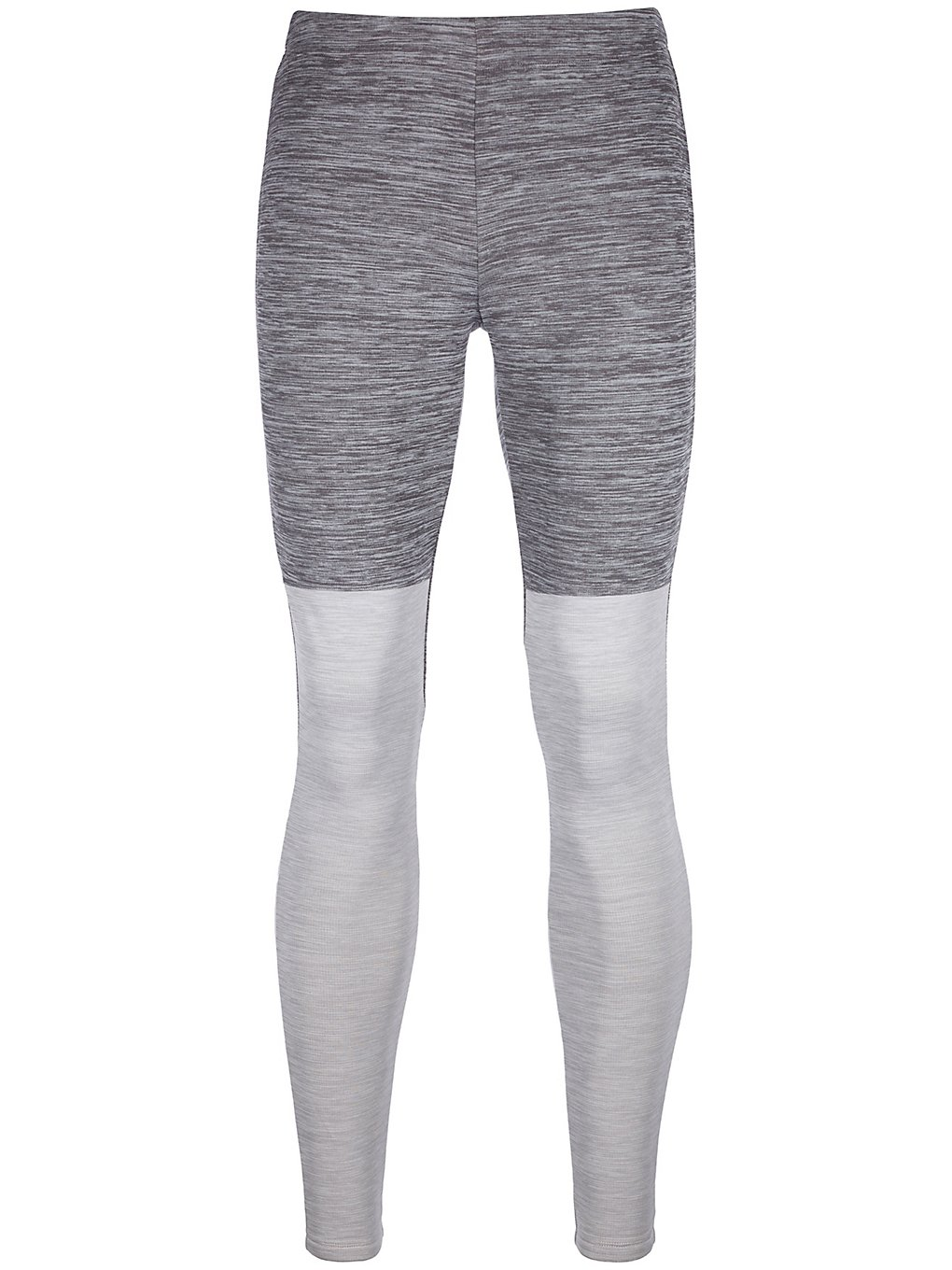 Ortovox Fleece Light Long Base Layer Bottom grijs