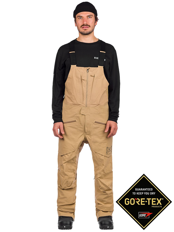 Burton ak Gore-Tex 3L Freebird Stretch Bib Pants groen