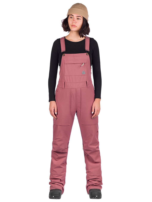 Burton Avalon Softshell Bib Pants roze