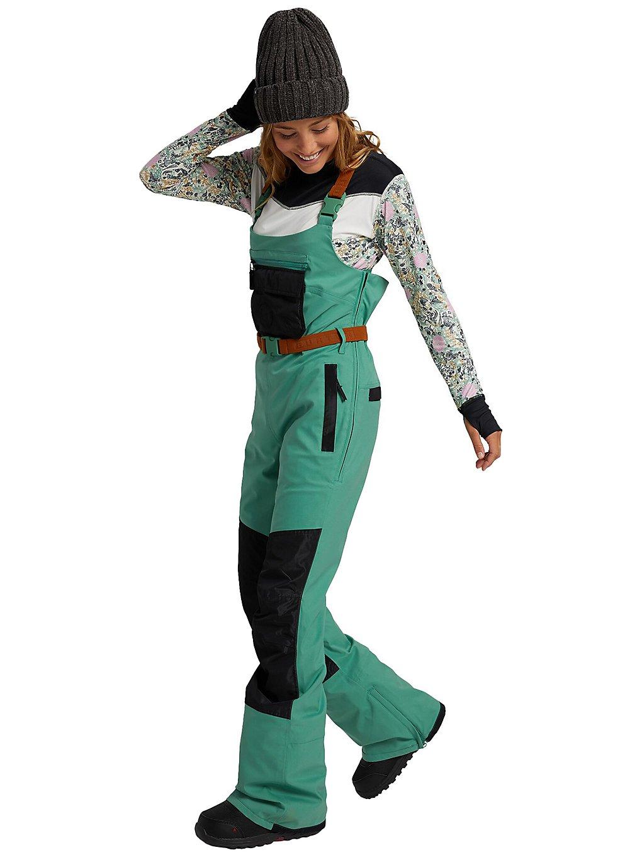 Burton Larosa Bib Pants groen