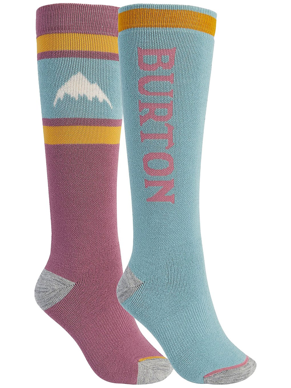 Burton Weekend Midweight 2Pk Tech Socks patroon