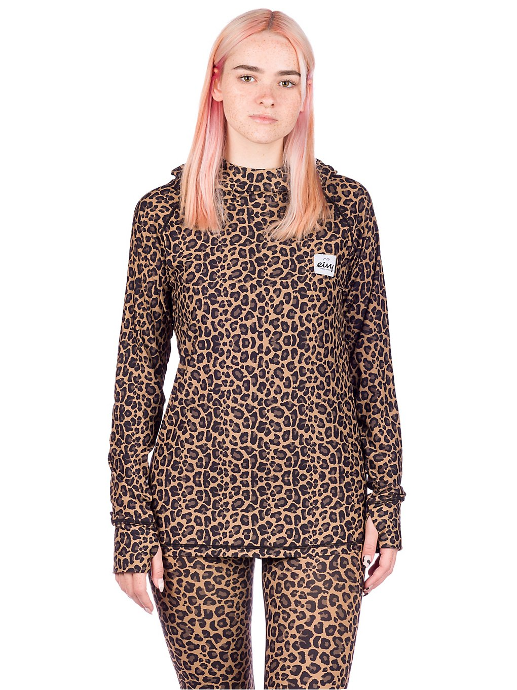 Eivy Icecold Hood Base Layer Top patroon