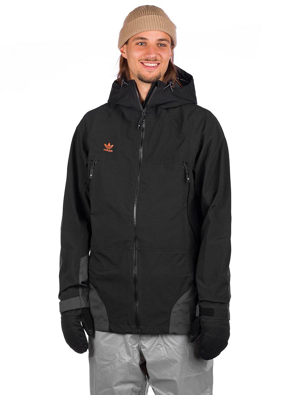 adidas Snowboarding 3L 20K Jacket zwart