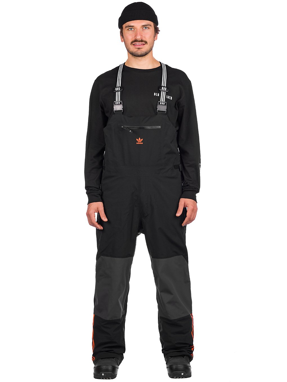adidas Snowboarding 3L Bib Pants zwart