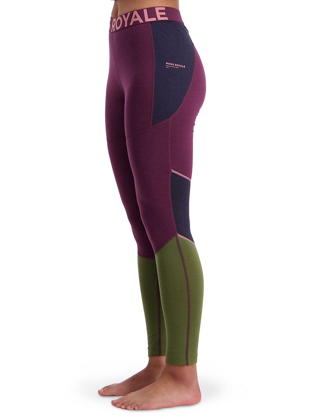 Mons Royale Merino Olympus 3.0 Base Layer Bottom zwart